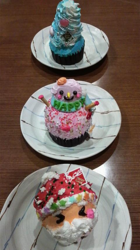 ソリ&ケーキ★