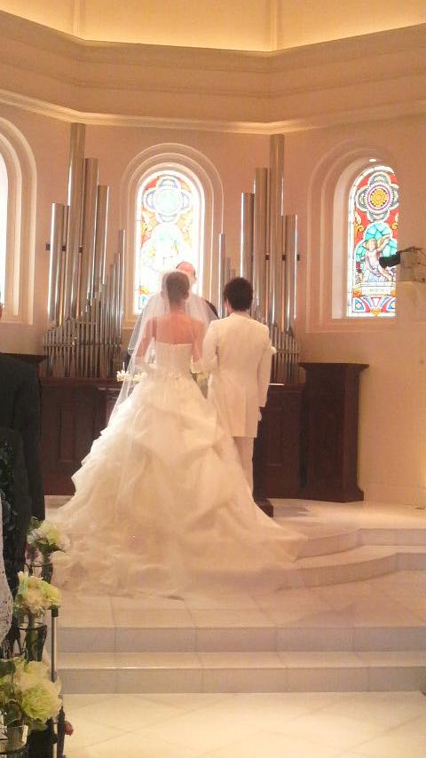 *結婚式*